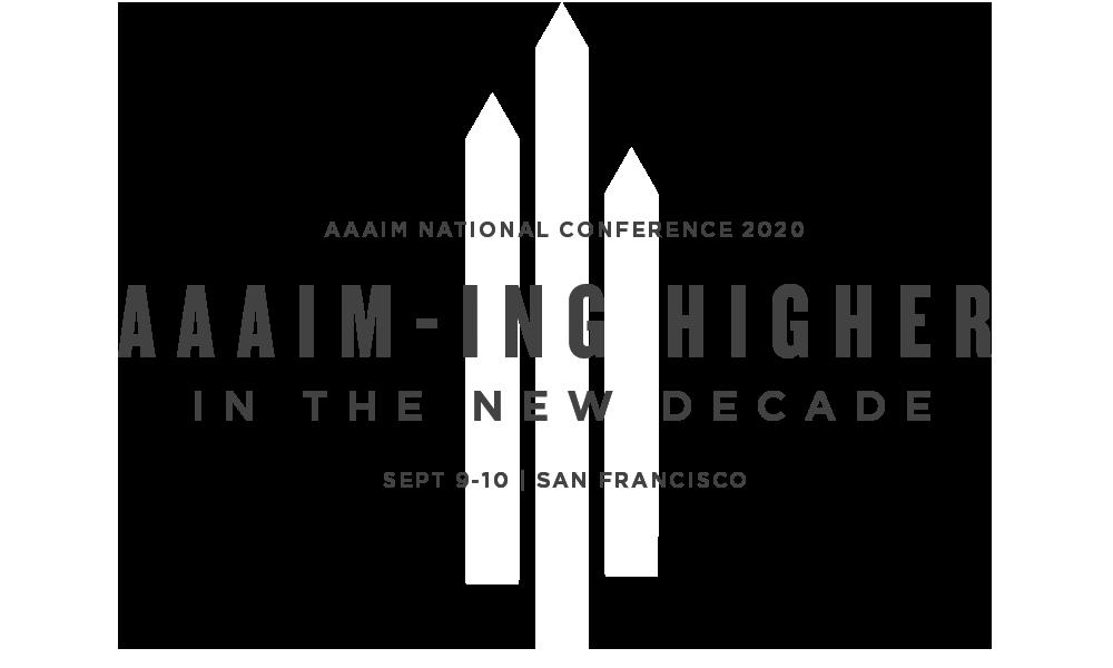 AAAIM National Conference 2020 Logo